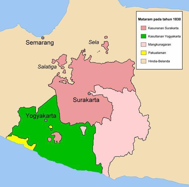 Sejarah Kerajaan( Kesultanan ) Mataram Islam