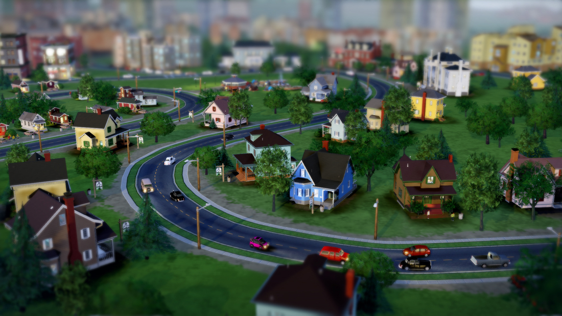 SimCity Simulation Game Maxis Beta