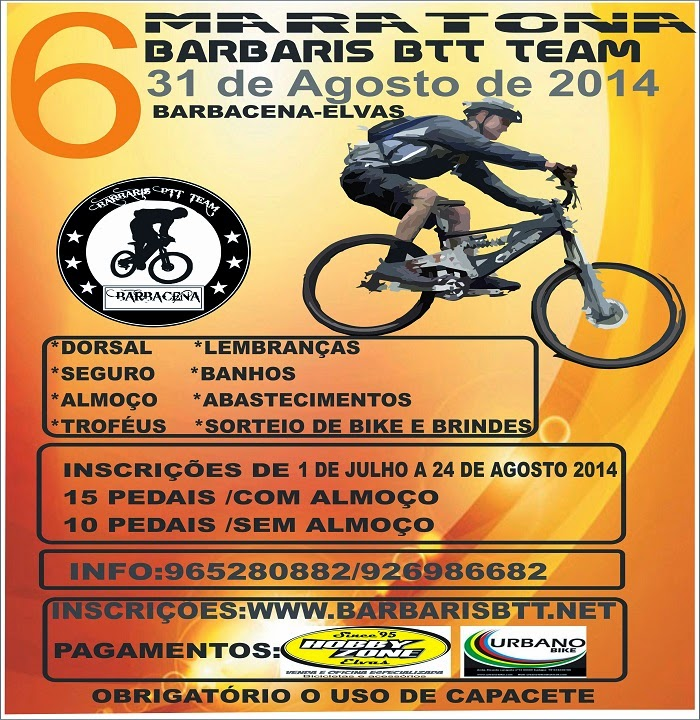 6ª Maratona Barbaris Btt Team