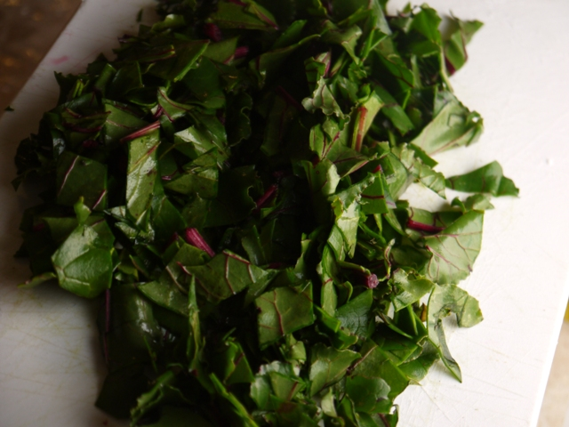 how to cook beet leaves and stems
