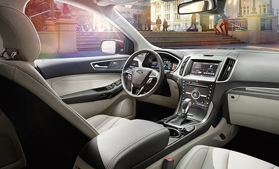 Inside, The 2015 Ford Edge Has Better Fitting Panels With Fewer Seams And  Tighter Gaps. That Might Not Sound Like A Big Deal, But In Terms Of  Perceived ...