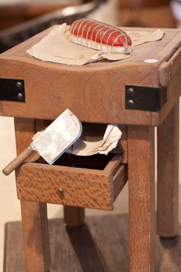 antiquit s brocante c te d 39 azur billot de boucher a vendre. Black Bedroom Furniture Sets. Home Design Ideas