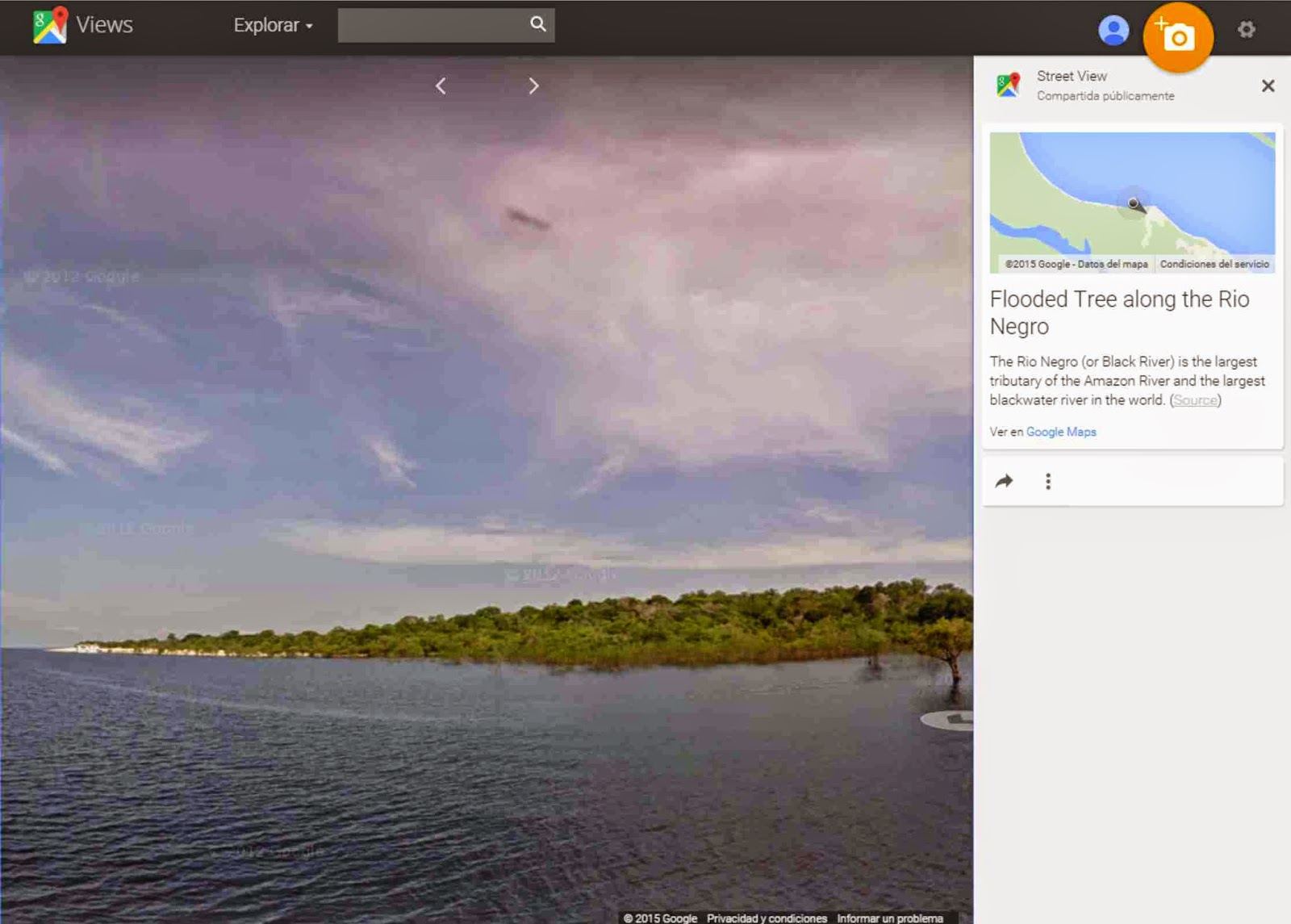 Explore the amazon jungle peru trip advisors - Google Street View Is Now In The Amazon Rainforest As A Result Of A Partnership With The Brazilian Ngo Amazonas Sustainable Foundation Fas