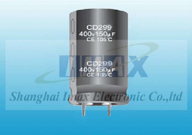 Imax Electronic Alu Electrolytic Capacitors Cd299