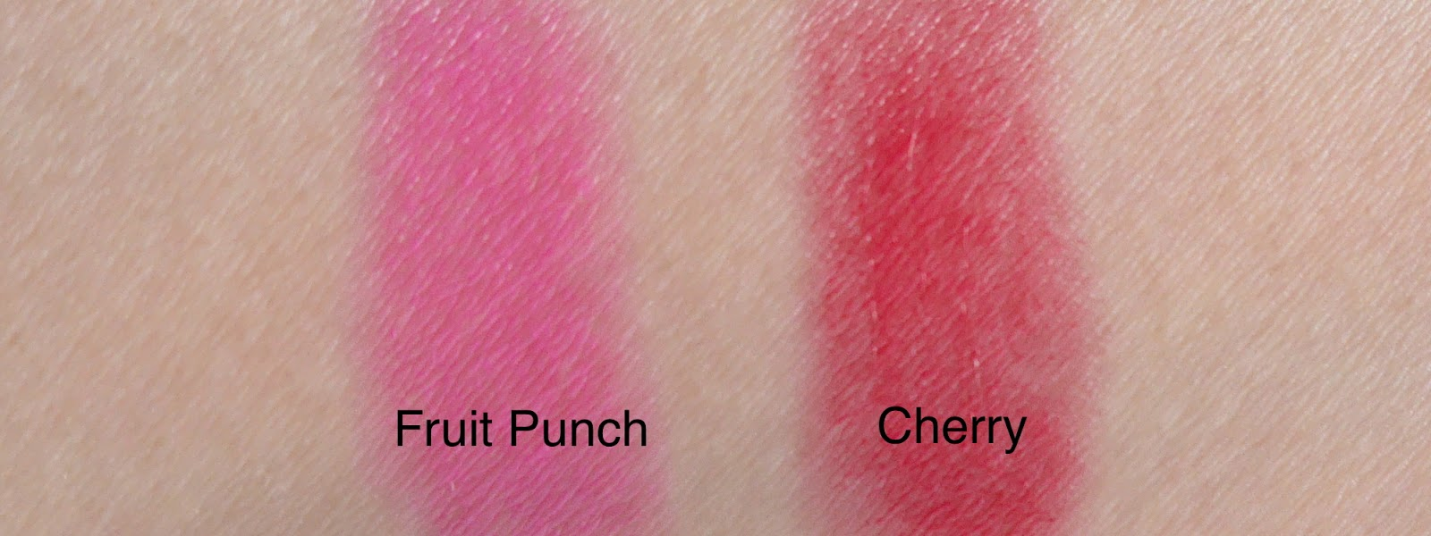 annabelle lipsies cherry fruit punch review swatch