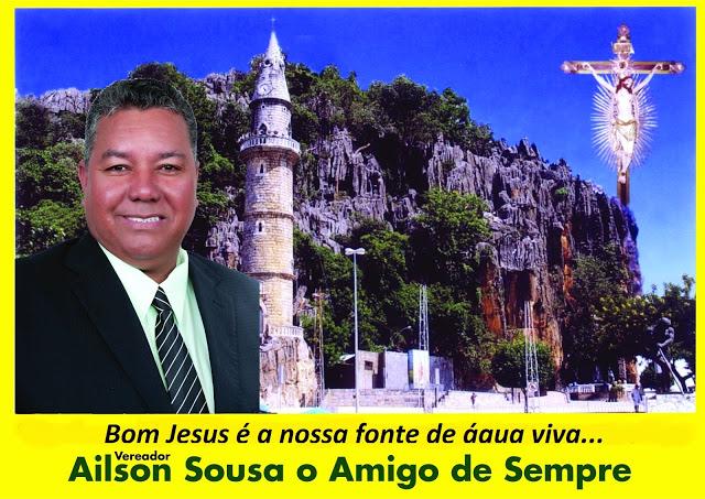 Vereador Ailson Sousa deseja a todos uma boa Romaria 2015