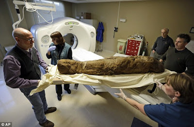 Mumia 4,000 tahun diimbas