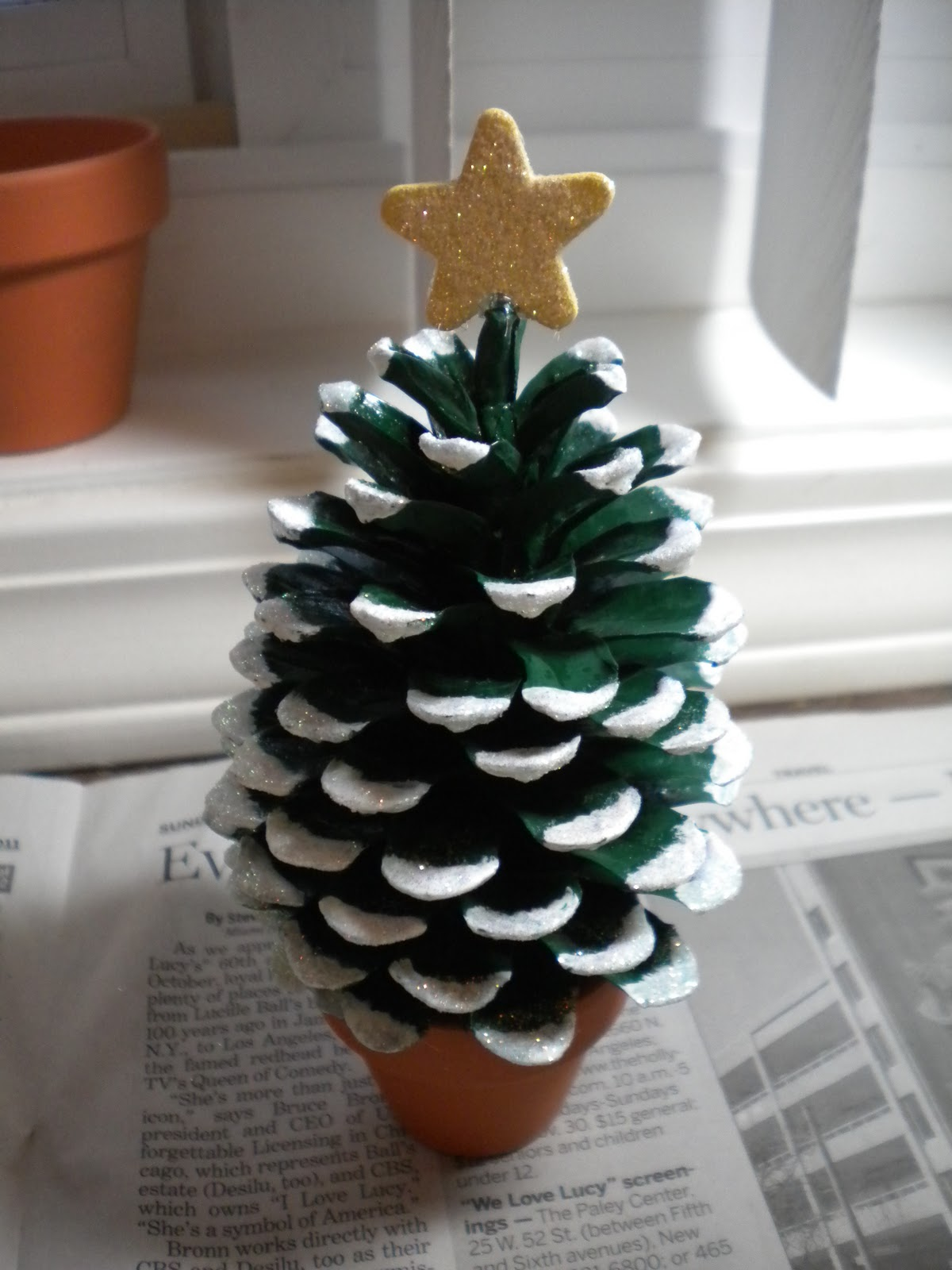 Mini xmas tree Crafteru0027s Delights Tutorial Pine