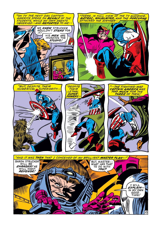 Captain America (1968) Issue #132 #46 - English 11