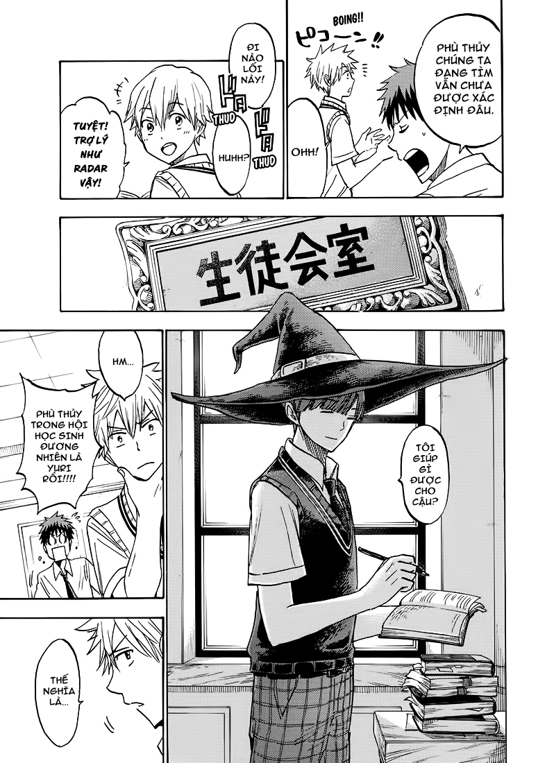 Yamada kun to 7 nin no Majo Chap 219 - Trang 11