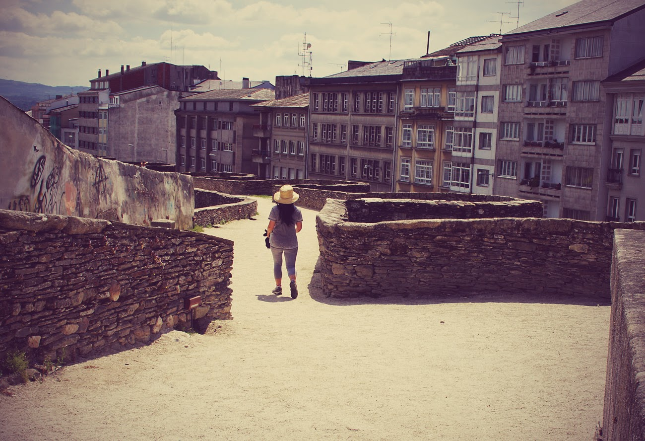 Lugo roman walls