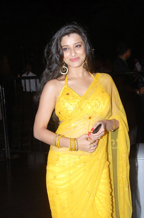 madhurima saree from santhosam awards, madhurima spicy glamour  images