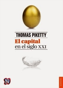 Ranking Semanal. Los diez libros más vendidos. El Capital en el siglo XXI, de Thomas Piketty.