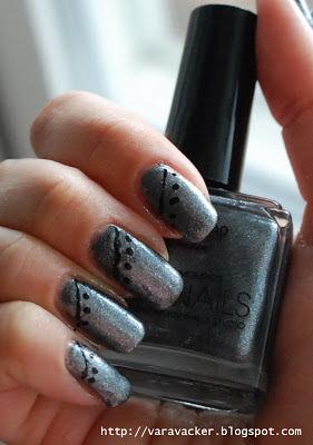 naglar, nails, nagellack, nail polish, nail art, nai lart sunday, easy nail art, nordic cap star nails
