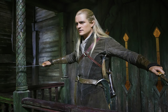 Legolas in The Hobbit: The Desolation of Smaug movie still image picture photo