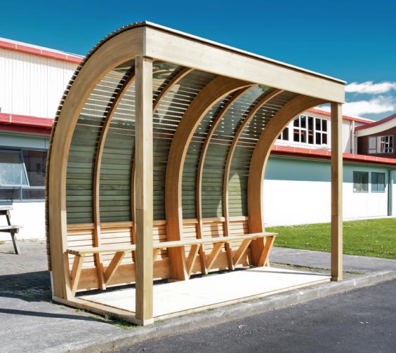 Bus Stop Shelters : Bus shelter april