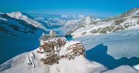 Alps Jungfraujoch Sphinx Gletscher
