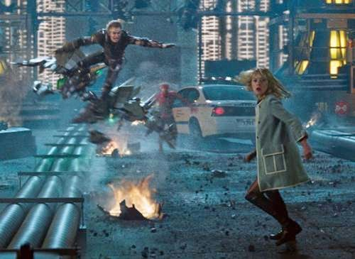 Review - Emma Stone, Andrew Garfield and Dane DeHaan in The Amazing Spider-Man 2