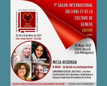 <br>Apoiamos o 1º Salão Internacional do Livro e da Cultura de Genebra