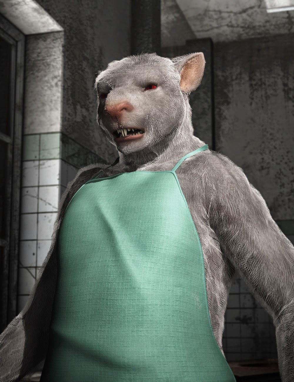 Rat de rue - L'homme aux rats