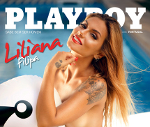 Liliana Filipa Playboy Portugal Agosto 2016