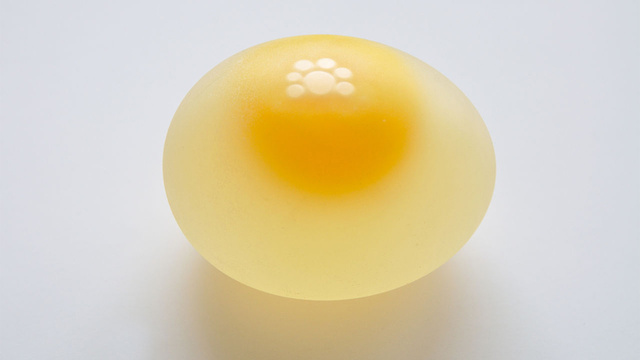 making an egg stand without the outer-shell
