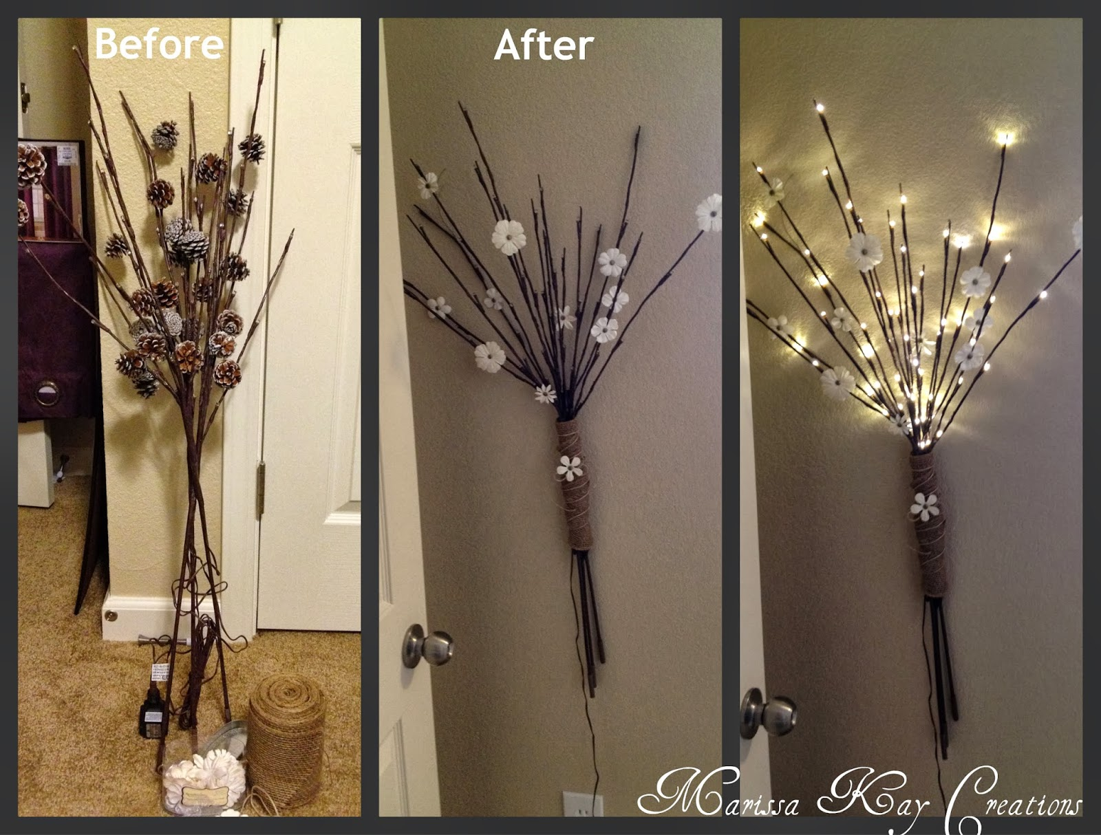 Lighted Tree Branches Home Decor 28 Images Marissa Creations Light Up Tree Branches Project