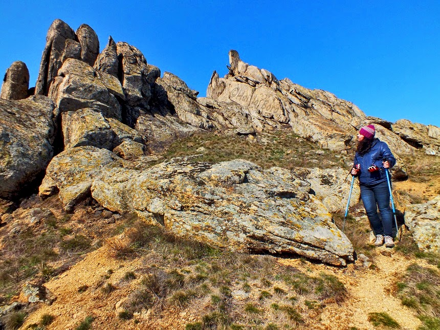 peisaj traseu muntii macin pricopanul
