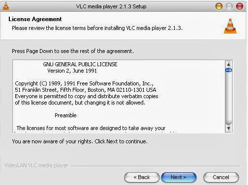 how to change file in to a vlc file