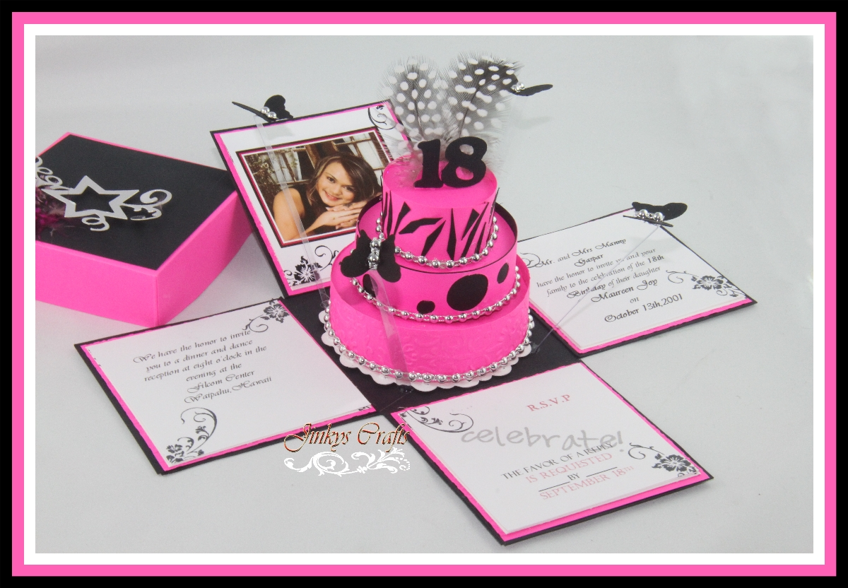 18th Birthday Invitation Ideas