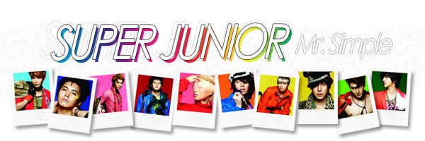 Super Junior 5th album MR.SIMPLE