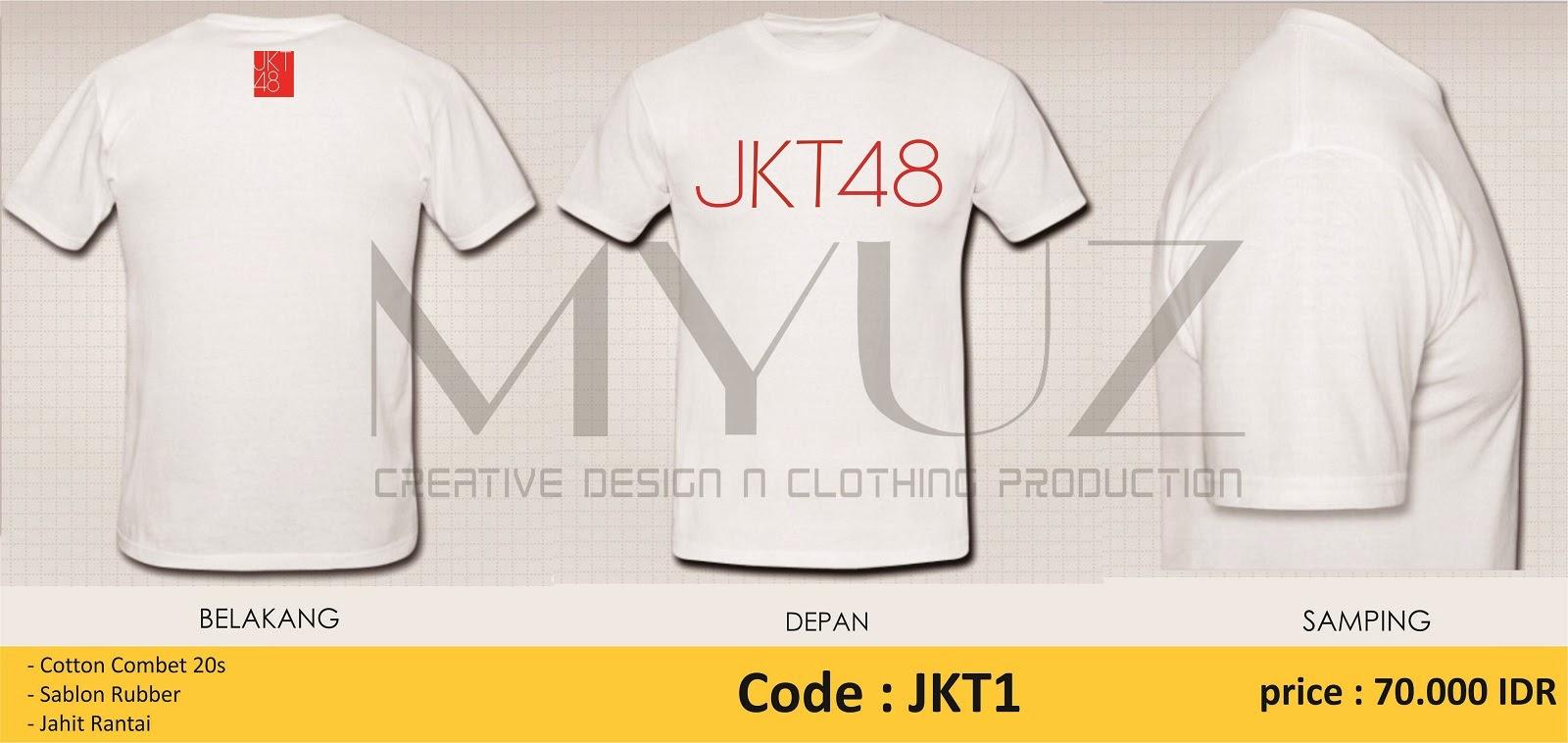 Desain t shirt jkt48 - Kaos Jkt48