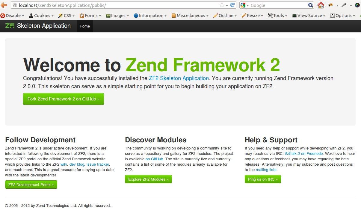 zend framework version