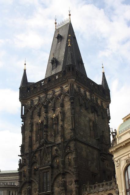 Пороховая башня (Пороховые вотора), Прага, Чехия.