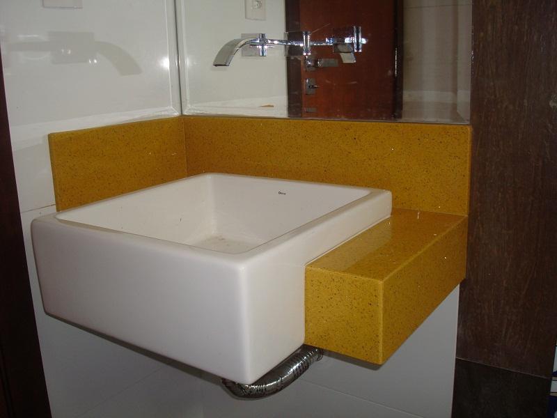 Construindo um Castelinho Cuba de Semi Encaixe -> Pia Banheiro Semi Encaixe