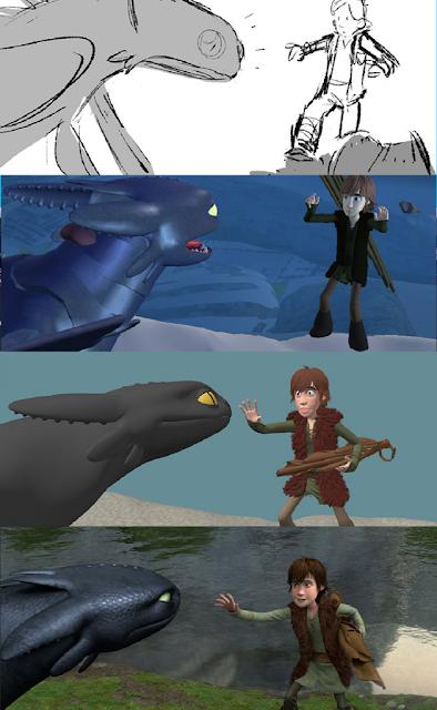 Evolución del desarrollo de Cómo entrenar a tu dragón