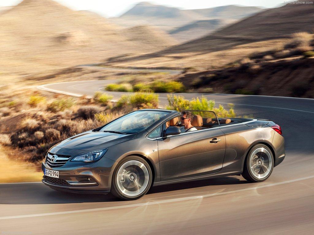 Opel Cascada - Một dòng thể thao ấn tượng của Opel
