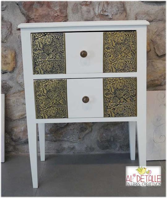 Rosabel manualidades muebles decorados - Muebles pintados a la tiza ...