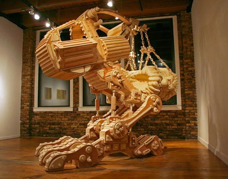 World Of Technology 60 Creative Wooden Sculptures