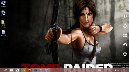 Tomb Raider 2013 Theme For Windows 7 And 8