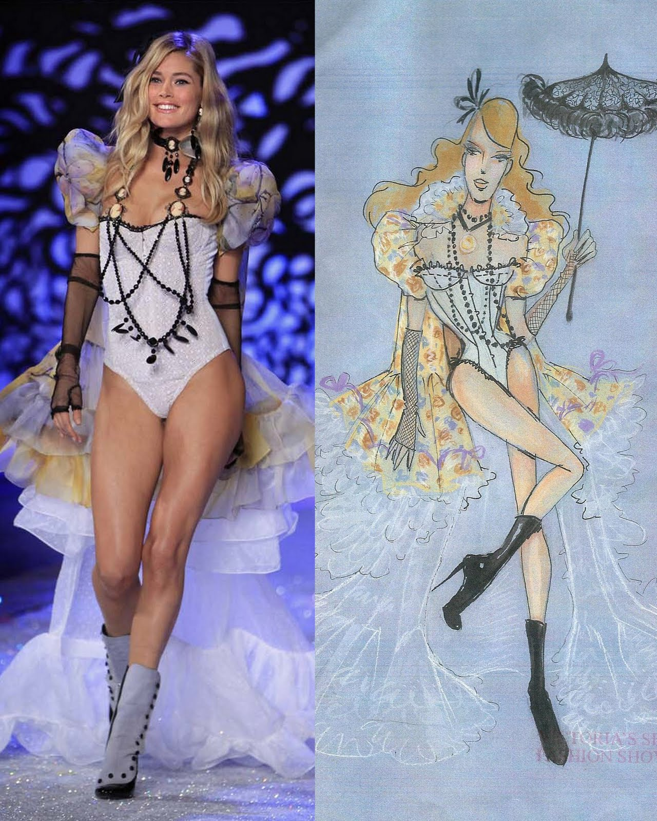 Victorias secret fashion show 2016 wiki - Photo Courtesy Of Victoria S Secret Fashion Show 2011 Lukas Jackson Reuters Sketch By Todd Thomas