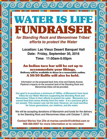 Protect the Water fundraiser Sept. 30