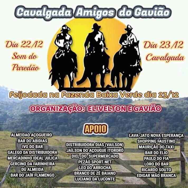 Cavalgada Amigos do Gavião