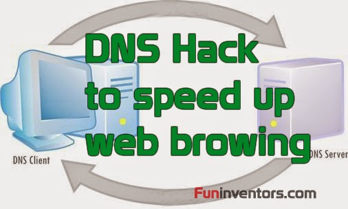 DNS hack to speed up web browsing