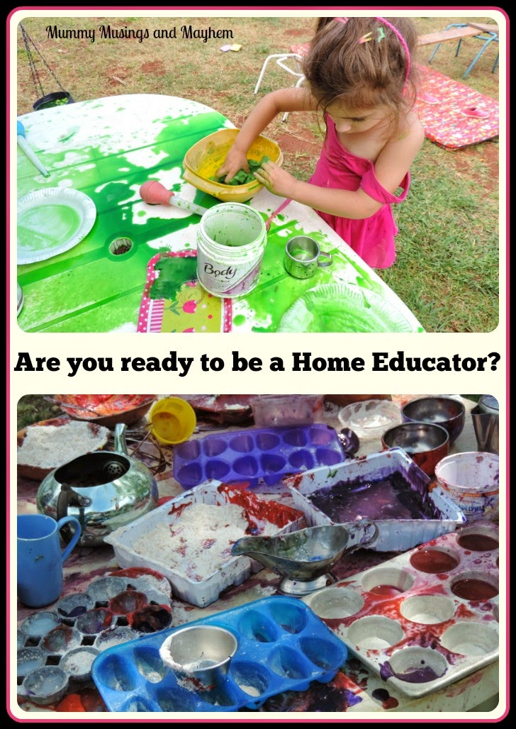 Are you ready to be a home educator?...a few funny things you might not have considered! By Mummy Musings and Mayhem