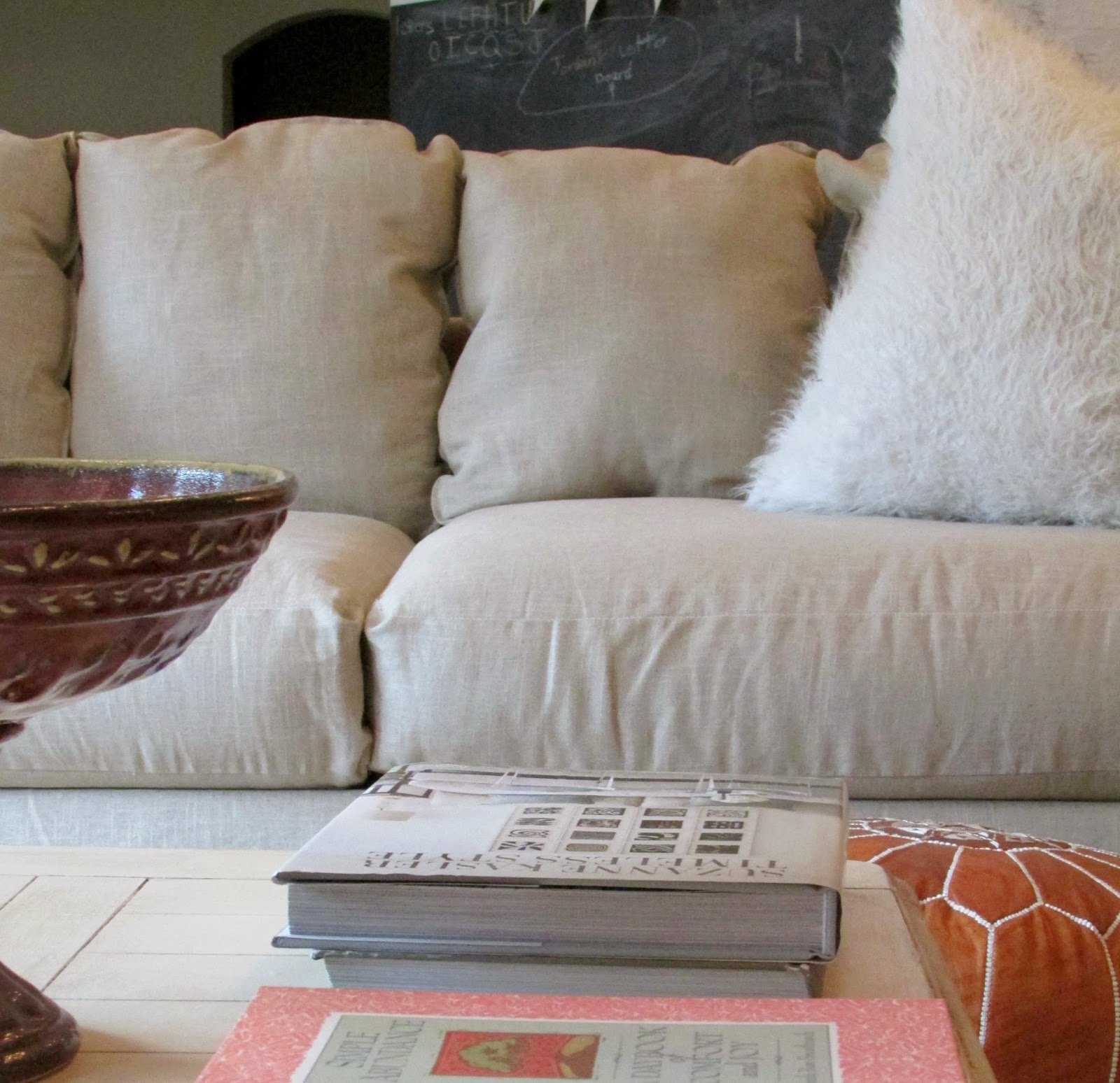 how to clean my linen couch