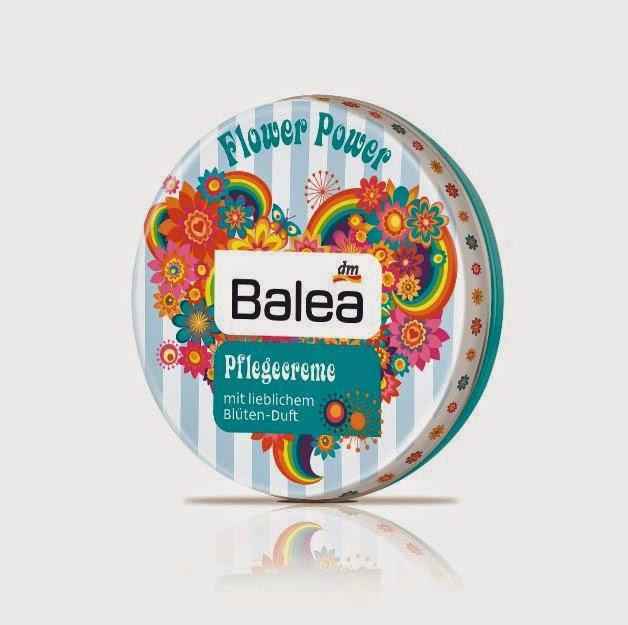 Balea Pflegecreme - Flower Power - www.annitschkasblog.de