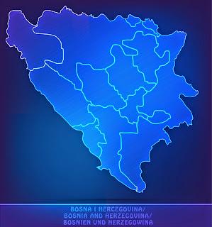 Map of BiH