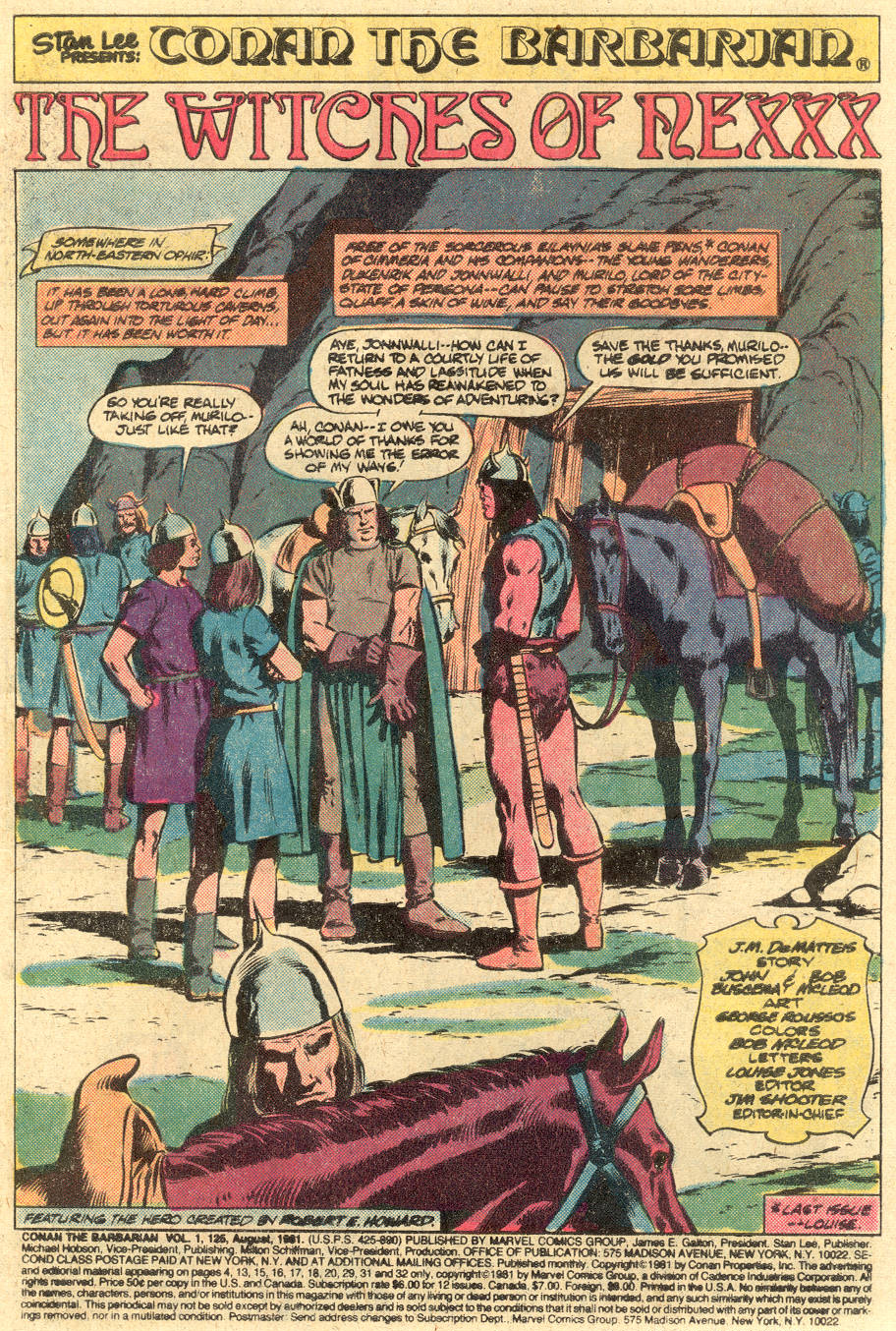 Conan the Barbarian (1970) Issue #125 #137 - English 2