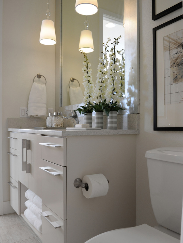 Modern Furniture Hall Bathroom Pictures Hgtv Green Home 2011